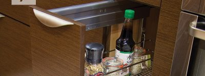Base Pull-Out With Drawer